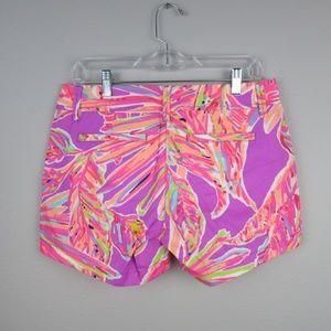 Lilly Pulitzer NWT Callahan Shorts Amethyst Sunseekers $64